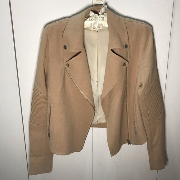 Wilfred Jackets & Blazers - Aritzia   Wilfred Jacket - Moto Jacket / Blazer